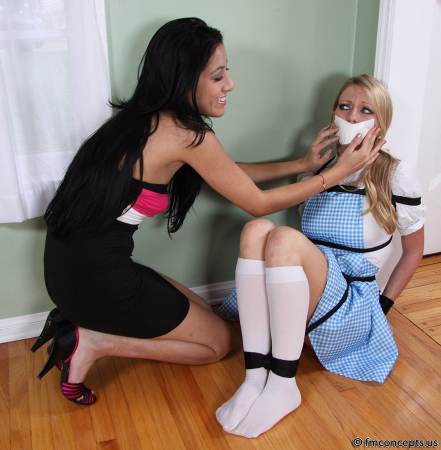 White socks bondage