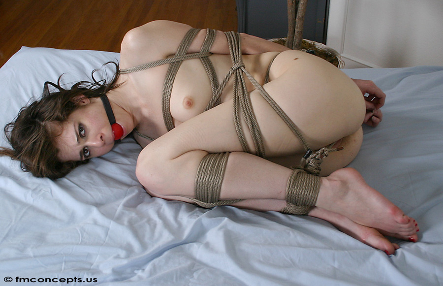 Have Tightly bound and naked videos